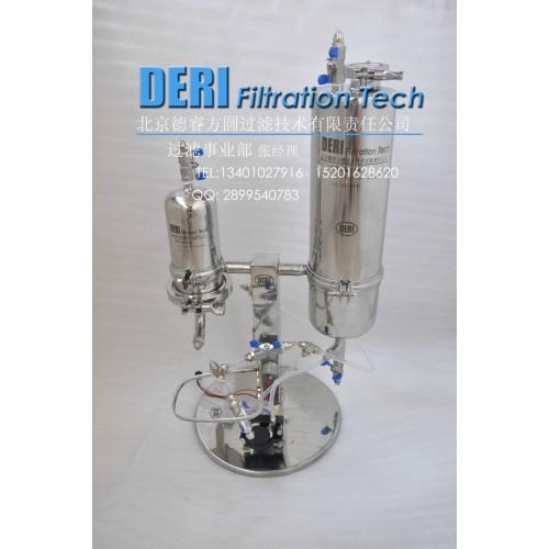 小型微型弱酸弱碱过滤系统;微孔膜液体过滤器系统带小型储罐