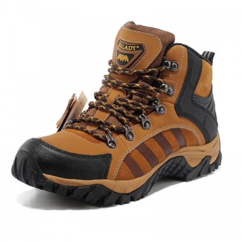BALADY帕莱汀 新款高帮透气登山鞋男士户外徒步鞋防水越野鞋