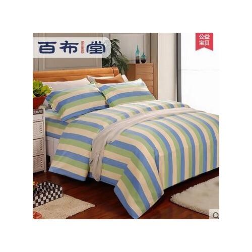 百布堂 纯棉  老粗布 被套 床上用品