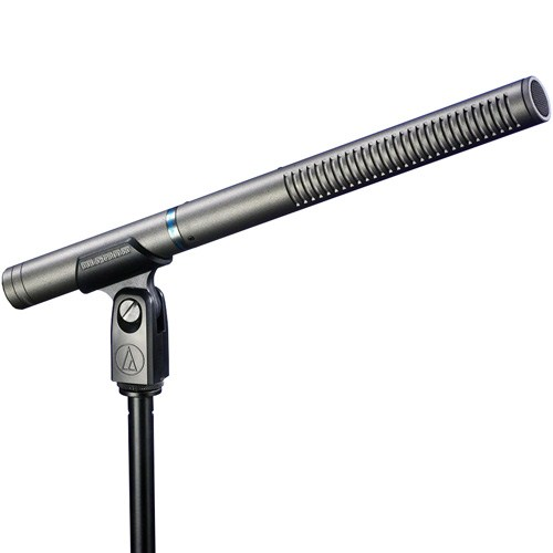 铁三角 AT897 超指向性电容 采访 同期录音话筒