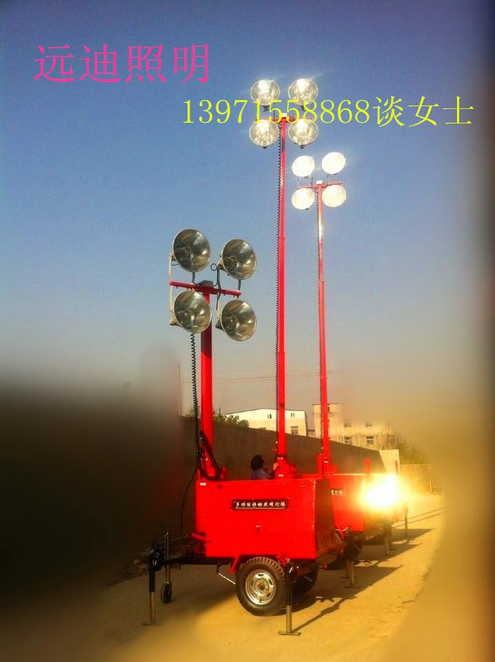 移动照明灯塔丨移动照明拖车