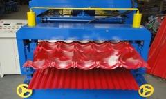 压瓦机|彩钢压瓦机|彩钢设备|双层压瓦机