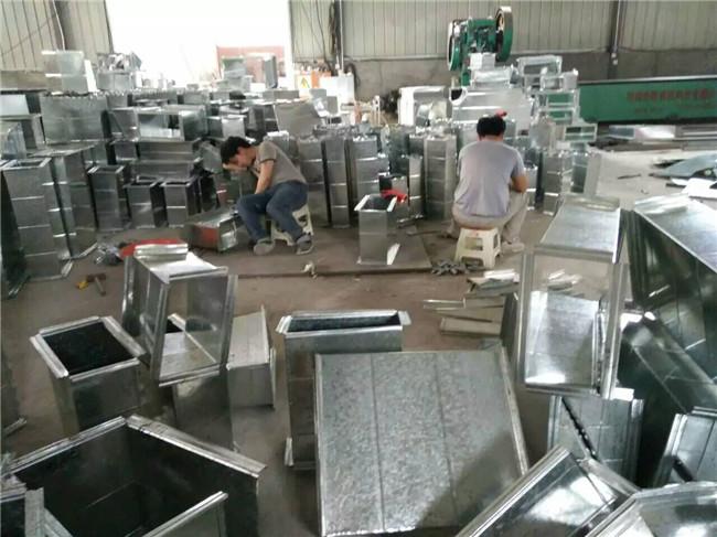 工业建筑共板法兰通风管生产厂家 工业建筑共板法兰通风管供应商