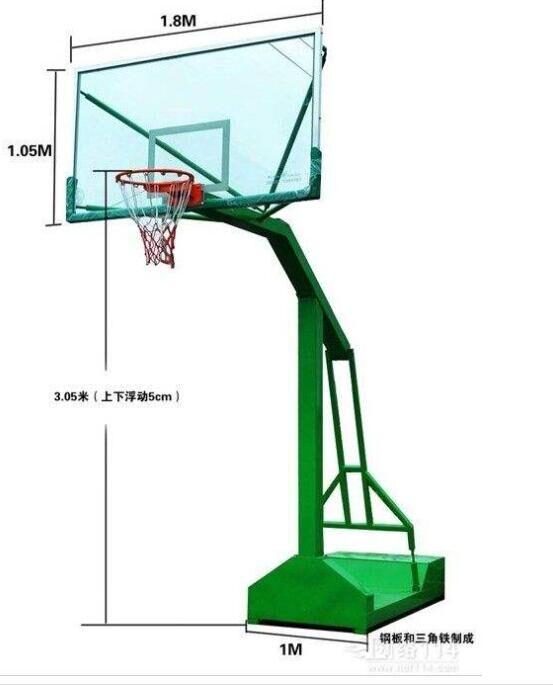 有机玻璃篮球架生产厂家