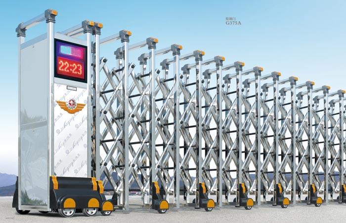 合肥铝合金伸缩门生产厂家 合肥铝合金伸缩门供应商