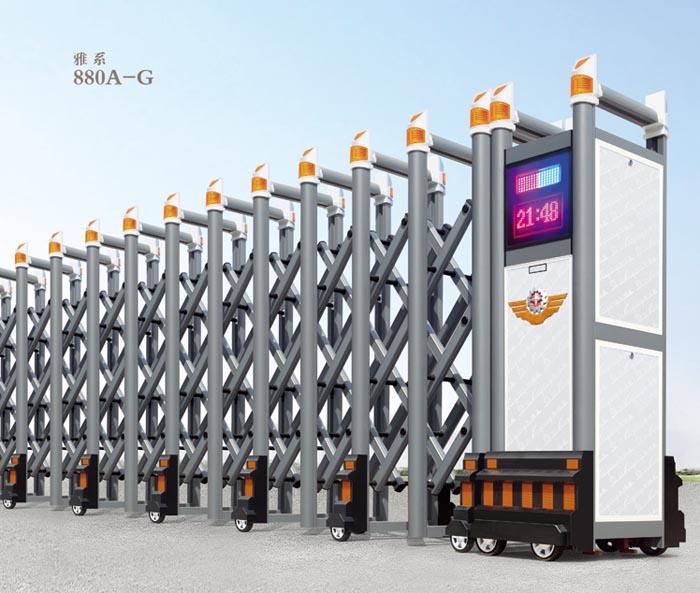 合肥铝合金伸缩门供应商 合肥铝合金伸缩门生产厂家