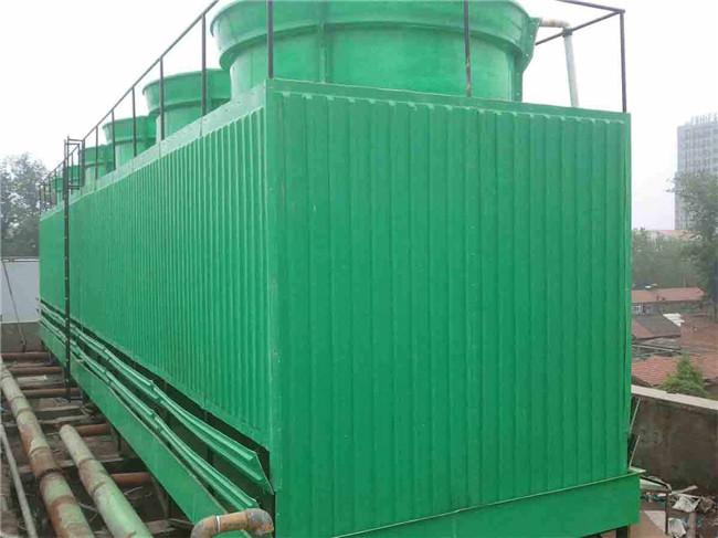 横流式方形玻璃钢冷却塔生产厂家 横流式方形玻璃钢冷却塔供应商