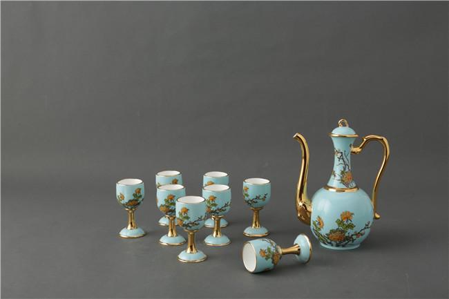 景德镇陶瓷酒具套装批发价格