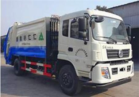 D913-12方压缩式垃圾车