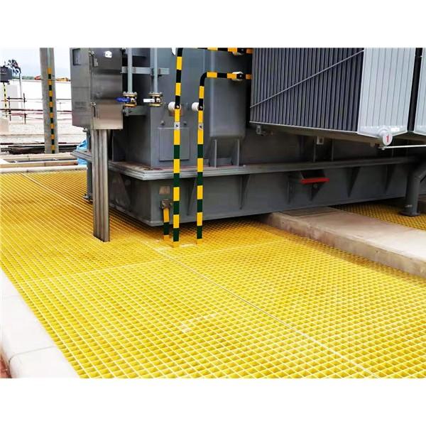 变电站封油池事故油池检修平台格栅