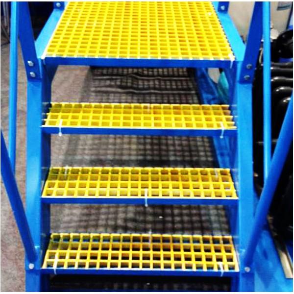 玻璃钢格栅-楼梯踏步